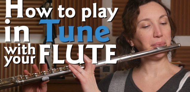 How to play in TUNE with your Flute
